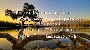 Geneza 16.7-8