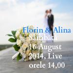 Florin şi Alina, 16 August 2014