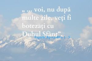 Duhul Sfânt, Faptele Apostolilor 2