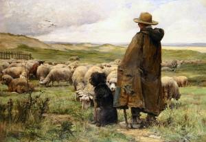 Păstorul de Julien Dupre (1851-1910)